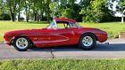 1957 Chevrolet Corvette Black vinyl - Al Knoch