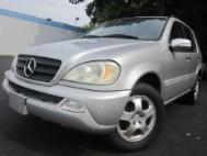 2002 Mercedes-Benz M-Class ML320