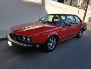 1985 BMW 6 Series 633CSi