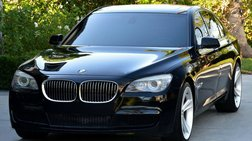 2011 BMW 7 Series 750LI-M SPORT-LOADED-LOW MILES-NO RESEVE