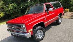 1984 Chevrolet Blazer Silverado