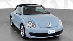 2014 Volkswagen Beetle 2.5L Convertible 2D