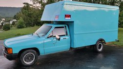 1986 Toyota Pickup CAB CHASSIS RN75 DLX