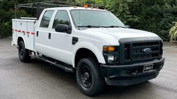 2008 Ford F-350 XLT CREW CAB/4X4/ UTILITY SERVICE BED