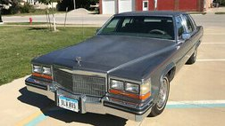 1986 Cadillac Fleetwood Brougham Base