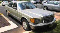 1989 Mercedes-Benz 420-Class 420 SEL
