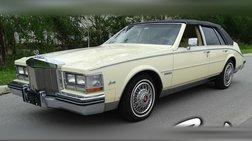 1983 Cadillac Seville Base