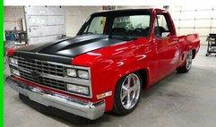1986 Chevrolet Square Body Custom Shortbed Pickup Truck Frame-Off Restore