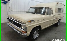 1970 Ford F-100 Ford F-100 Vintage Truck Camper Special