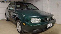 2001 Volkswagen Cabrio GLS
