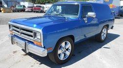 1987 Dodge Ramcharger 150