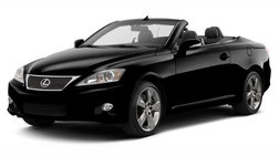 2011 Lexus IS 350C IS350 Convertible Leather Nav Back up Cam