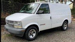 2001 Chevrolet Astro Cargo Van Base