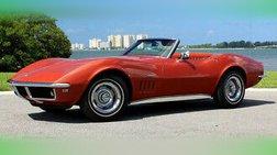 1968 Chevrolet Corvette signed by Zora Duntov, Elfi Duntov Larry Shinoda