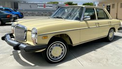 1976 Mercedes-Benz 240D, LOW MILE CLASSIC! (CLEAN TITLE)