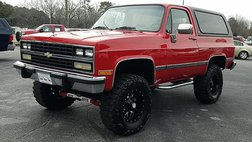 1991 Chevrolet Blazer Silverado