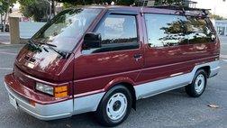 1988 Nissan Van GXE