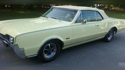 1967 Oldsmobile Yellow