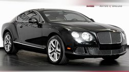 2012 Bentley Continental GT Coupe, 14K, Great Shape, Recent Service