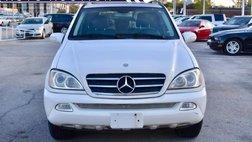 2003 Mercedes-Benz M-Class ML 500