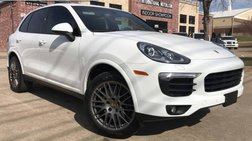 2017 Porsche Cayenne Platinum Ed.