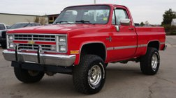 1987 Chevrolet R/V 10 Series V10 Silverado