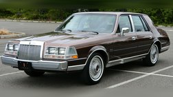 1987 Lincoln Continental Givenchy