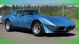 1977 Chevrolet Corvette 1977 Chevrolet Corvette L82 4 Speed, Air Conditioning