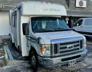 2008 Ford E450 COMMERCIAL HANDYCAP 2 WHEELCHAIR 12 SEATS