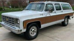 1978 Chevrolet Suburban Silverado C20