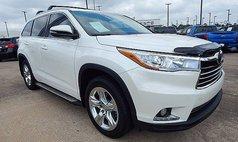 2015 Toyota Highlander Limited Platinum
