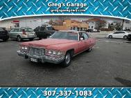 1975 Cadillac DeVille 4dr Sdn