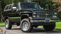 1985 Chevrolet Blazer K10