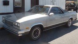 1987 Chevrolet El Camino Base