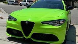 2018 Alfa Romeo Giulia Ti Sport