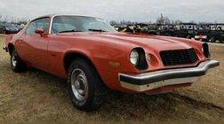 1977 Chevrolet Camaro 1977 CHEVROLET CAMARO