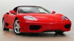 2003 Ferrari 360 Spider Base