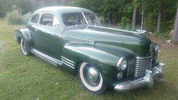1941 Cadillac 1941 CADILLAC SERIES 61 FASTBACK SEDANETTE