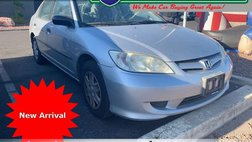 2004 Honda Civic Value Package