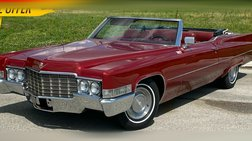 1969 Cadillac DeVille NUMBERMATCH472FULLYLOADED