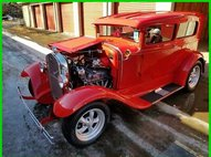 1931 Ford Chopped Sedan All Steel Turn Key Ready