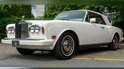 1985 Rolls-Royce Corniche Drophead