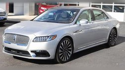2019 Lincoln Continental Black Label