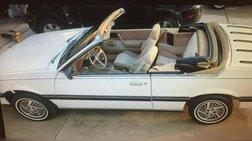 1985 Pontiac Sunbird LE