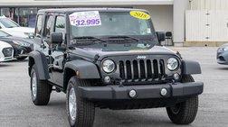 2018 Jeep Wrangler JK Unlimited Sport 4x4