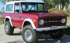 1972 Ford Bronco Original First Edition Sasquatch Restored