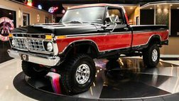 1977 Ford F-150 Ranger 4X4 Pickup