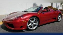 2003 Ferrari 360 360 SPIDER~ ONLY 8K MILES!!! RARE COLOR!!~ ~CLEAN