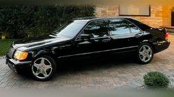1999 Mercedes-Benz S-Class S 600