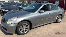 2005 Infiniti G35 x